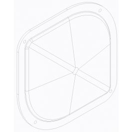 OVAL SULKY VIEWING PORT PLAN 85292-0