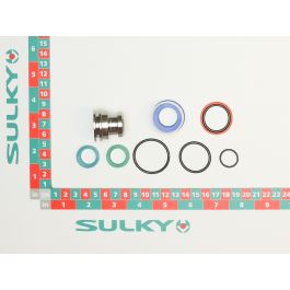SEAL PACK WITH PISTON FOR CYLINDER ROD D.16MM
